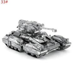 Hình ảnh 3d Metal Model Puzzle Jigsaw Laser Cut Assembly Diy Gift Toy Decorationdiy Type33# - intl