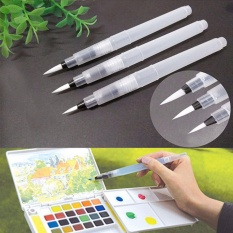 3pcs Pilot Ink Pen For Water Brush Watercolor Calligraphy Painting Tool Set - Intl By Blossom Mall.