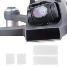 Hình ảnh 4 cái/bộ HD Rõ Nét Ống Kính Bảo Vệ Máy Bay Không Người Lái Body Màn Hình Bảo Vệ cho DJI Spark Drone Phụ Kiện-quốc tế