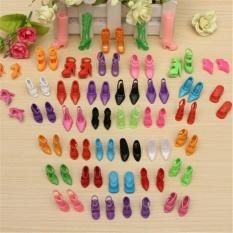 Hình ảnh 40 cặp Diffirent Cao Gót Giày Ủng Bọc Giày 29 cm Búp Bê Barbie Phụ Kiện Đồ Chơi Mới-quốc tế