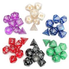 Hình ảnh 42 cái Đa Diện Xúc Xắc Bao Gồm 6 túi Trọn bộ 7 GAME NHẬP VAI DD Pathfinder +-intl