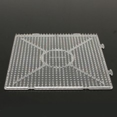 Hình ảnh 4PCs Large Pegboards for Perler Bead / Hama Fuse Beads Clear Square Design Board New - intl