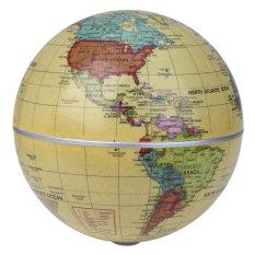 Hình ảnh 5.5 inch Chạy Bằng Năng Lượng Mặt Trời Tự Động Xoay Thế Giới Quả Địa Cầu-quốc tế
