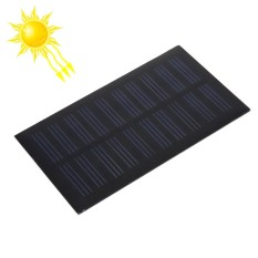 Hình ảnh 5V 0.7W 140mAh DIY Sun Power Battery Solar Panel Module Cell, Size: 107 X 61mm - intl