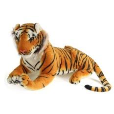 Hình ảnh 60 cm Hổ Động Vật Sang Trọng Búp Bê Vải Trẻ Em Mô Phỏng Đồ Chơi Nhồi Bông Trẻ Em Sinh Nhật 50/60 cm Màu Vàng -quốc tế