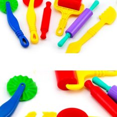 Hình ảnh 6PCS/set Polymer Clay Intelligent Plasticine Playdough Mould Tools Mold - intl