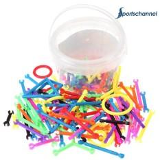 Hình ảnh Assembled Sticks Building Blocks Set Plastic Puzzle Toy Kid Educational Toy(Multicolor)-220pcs - intl