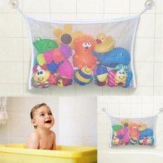 Hình ảnh Cho bé Thời Gian Tắm Đồ Chơi Gọn Gàng Lưu Trữ Hút Túi Lưới Phòng Tắm Organiser Lưới Đồ Chơi Gọn Gàng-intl