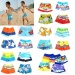 Baby Boy Swimwear Cartoon Pattern Surfing Swim Trunks for Kids Colors 26.5cm - intl