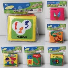 Hình ảnh Baby figure Colorful Cloth Book Intelligence Development Cognize Toy Kids - intl