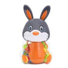 Hình ảnh Cho bé Đáng Yêu Nhiều Màu Sắc Tay Chuông Sần Ăn Bộ Chai-Thỏ-quốc tế