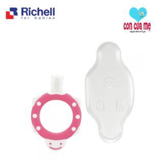 Bàn chải bước 1 massage lợi gặm nướu Richell cho bé 3m+ RC98174 thumbnail