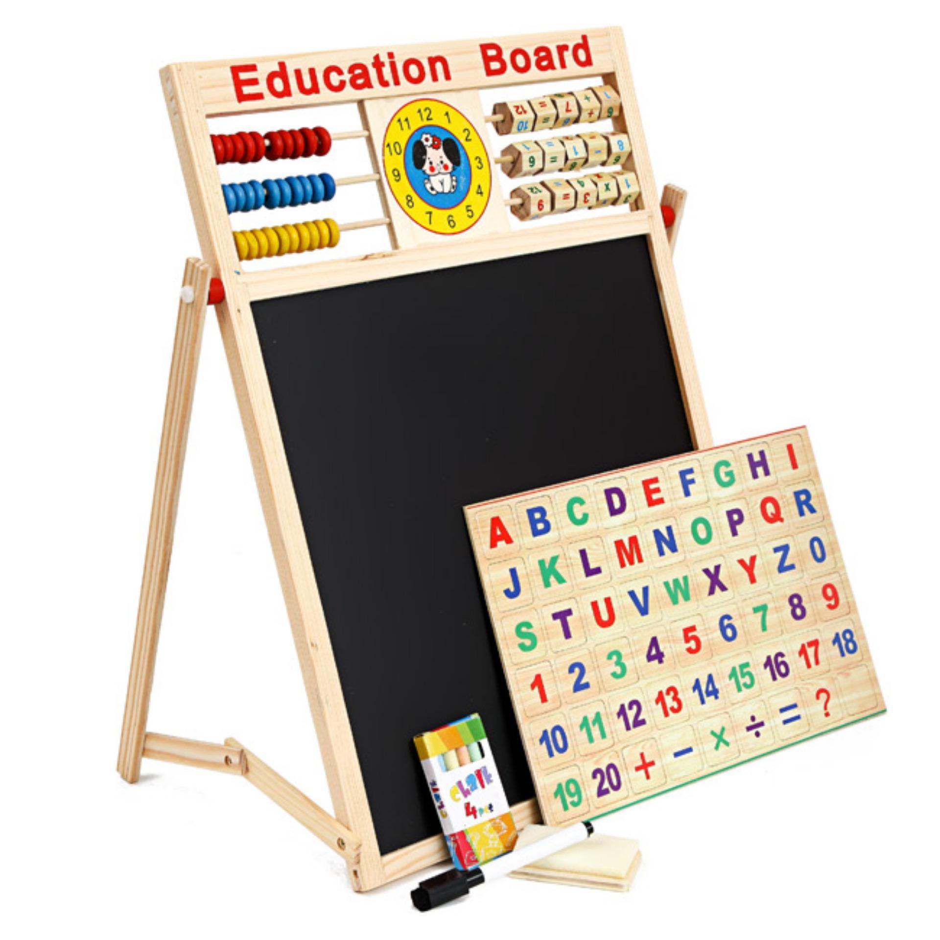 Bảng Học 2 Mặt Chữ Và Số Cho Bé Education Board
