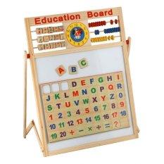 Hình ảnh Bảng học 2 mặt viết phấn, viết bút dạ cho Trẻ mẫu giáo và lớp 1 - Bảng chữ A