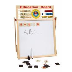 Hình ảnh Bảng từ 2 mặt kèm bộ chữ gỗ gắn nam châm cho bé