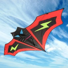 Bán Bat Kite Easy To Fly Children S Toys Outdoor Fun Sports Gift Black Red Intl Oem