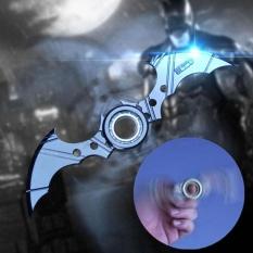Hình ảnh Batman Batarang Fidget Vòng Hợp Kim Trí Spinner ADHD Chống Bệnh Tự Kỷ Cosplay Đồ Chơi Trẻ Em-quốc tế