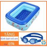 Giá Bán Bể Bơi Chữ Nhật 120 X 85 X 35Cm Tặng Kinh Bơi Cho Trẻ Smart Store Trực Tuyến Hà Nội
