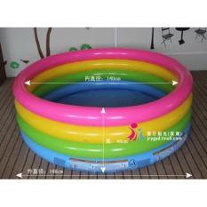 Hình ảnh Bể Bơi Phao Cầu Vồng 4 Tầng 56441