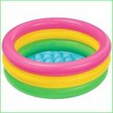 Giá Bán Bể Bơi Phao Cho Be Intex Cầu Vồng Loại 3 Tầng 1M14 Mới Rẻ