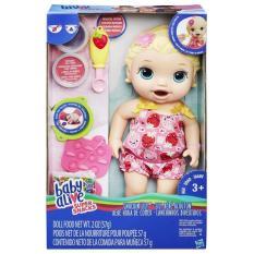 Hình ảnh Bé Lily Tập Ăn Dặm - Baby Alive Super Snacks - Hasbro C2697