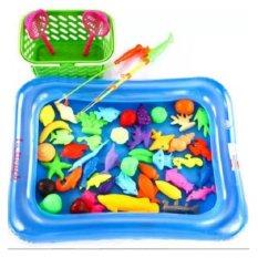 Hình ảnh Bể phao câu cá tại nhà cho bé