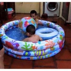 Hình ảnh Bể Tắm 3 Chi Tiết Cho Bé ( Bể -Bóng- Phao)