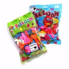 Mã Tiết Kiệm Để Mua Sắm Bịch 100 Bong Bóng Bay Balloon Hình Trái Tim Nhiều Màu
