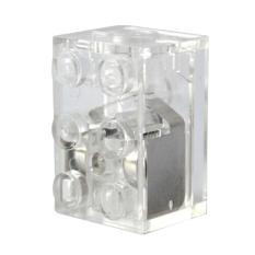 Hình ảnh Giảm Giá lớn Nhựa Mini Sáng Một Phần Công Cụ Mini Hình Khối Xây Dựng Đèn led-intl