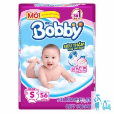 Bán Bỉm Ta Dan Bobby Cỡ S Bịch 56 Miếng Cho Be 4 7 Kg Rẻ Nhất