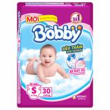 Giá Bán Bỉm Ta Dan Bobby Size S Sieu Thấm 30 Miếng Cho Be Dướii 7Kg Mới