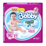 Chiết Khấu Bỉm Ta Dan Bobby Size Xl Sieu Nhỏ 21 Miếng Cho Be 12 17Kg Bobby Trong Hà Nội