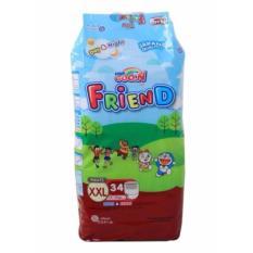 Giá Bán Bỉm Ta Quần Goon Friend Size Xxl34 Cho Be 15 25Kg Trực Tuyến