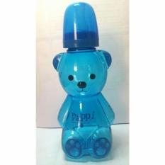 Bình sữa Gấu Pappi Thailan màu xanh