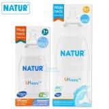 Giá Bán Binh Sữa Natur Uhappy 240Ml Cổ Rộng Nguyên
