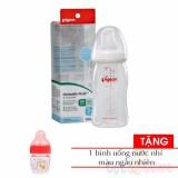 Giá Bán Binh Sữa Nhựa Cổ Rộng Pigeon Pp Plus 240Ml Tặng 1 Binh Uống Nước Nhi Mau Ngẫu Nhien Trực Tuyến Hồ Chí Minh