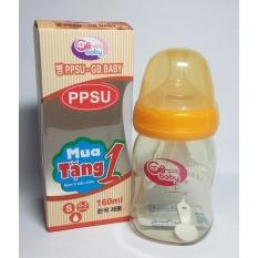 Mã Khuyến Mại Binh Sữa Nhựa Ppsu Gb Baby 160Ml Han Quốc Tặng 1 Num Ti Sieu Mềm Vang Nhạt Trong Hà Nội