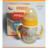 Giá Bán Binh Sữa Nhựa Ppsu Gb Baby 180Ml Han Quốc Co Tay Cầm Tặng 1 Num Ti Sieu Mềm Vang Nguyên None