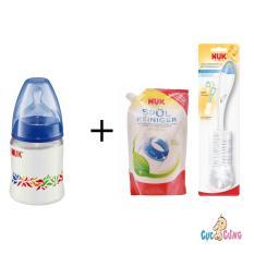 Bán Binh Sữa Nuk Nhựa Cổ Rộng 150Ml Silicone Xanh Dương 1 Bịch Nước Rửa Binh Sữa Nuk Bịch 500Ml Cọ Rửa Binh Sữa Nuk Rẻ Hồ Chí Minh