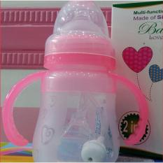 Bình sữa Silicon 2 in 1 Baby Love 150ml