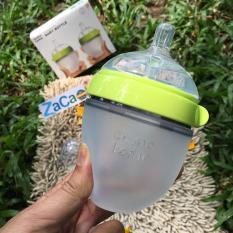 Mã Khuyến Mại Binh Sữa Silicone Comotomo 150Ml Xanh Chinh Hang Rẻ
