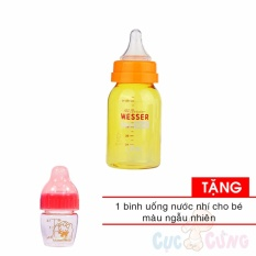 Ôn Tập Binh Sữa Wesser Cong Nghệ Khang Khuẩn Han Quốc 140Ml Tặng 1 Binh Uống Nước Nhi Mau Ngẫu Nhien Hồ Chí Minh