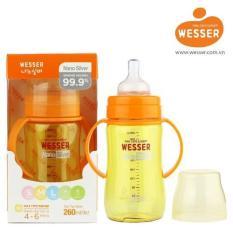 Bán Binh Sữa Wesser Nano Silver Cổ Rộng 260Ml Vang Chanh Wesser Người Bán Sỉ