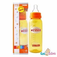 Cửa Hàng Binh Sữa Wesser Nano Silver Cổ Thường 250Ml Vang Wesser Nano Silver Hồ Chí Minh