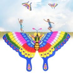Hình ảnh BKD store Novelty Funny Toys Batterfly Kites Outdoor Summer Easy Flying Swallowtail Balmy Sunny Breeze - intl