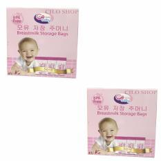 Giá Bán Bộ 02 Hộp 50 Tui Trữ Sữa Gb Baby Nguyên