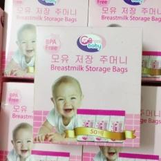 Mã Khuyến Mại Bộ 02 Hộp 50 Tui Trữ Sữa Gb Baby Trong Hà Nội
