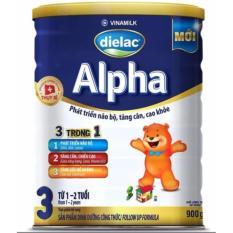 Giá Bán Bọ 02 Họp Sữa Bột Dielac Alpha 3 Hộp 900G Cho Be 1 2 Tuổi Mới Nhất