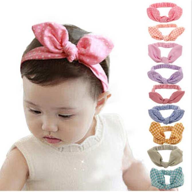 Bộ 02 turban - Băng đô cho bé