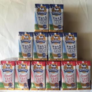 Bộ 03 Lốc Sữa Devondale Fullcream 200ml Và 03 Lốc Smart 200ml thumbnail